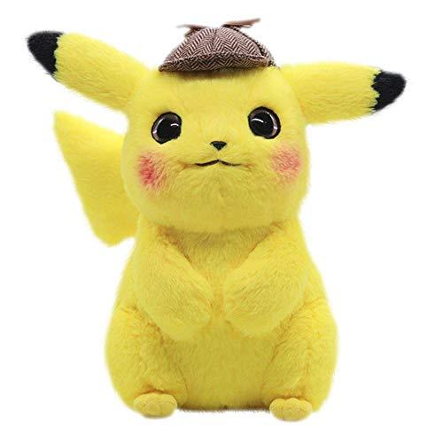 Latim Detective Pikachu Plush Toy Cuddly Detective Pikachu Toy Soft 11