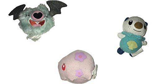 Pokemon Munna Woobat Oshawott Mini Plush 3