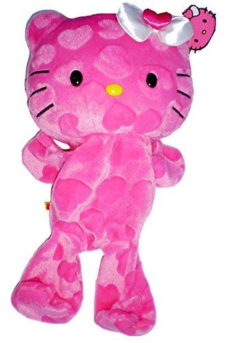 Build a Bear Hello Kitty Precious Pink Hearts UNSTUFFED 18 inch Sanrio Plush Toy Animal