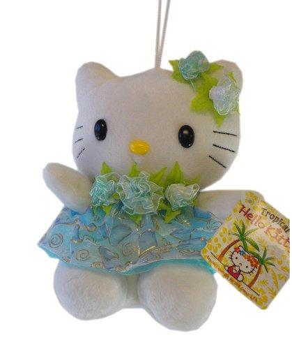 Hello Kitty Sanrio Tropical Plush Doll Blue