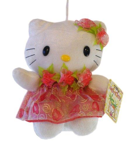 Hello Kitty Sanrio Tropical Plush Doll Red