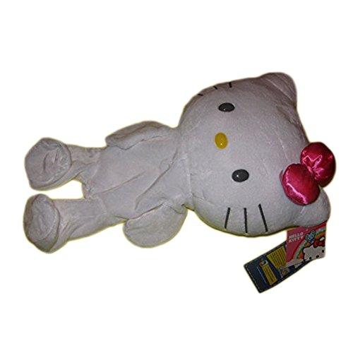 New UNSTUFFED Build-A-Bear 17in WHITE HELLO KITTY SANRIO Plush Teddy PINK BOW