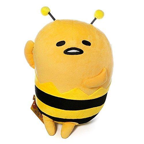 Sanrio Gudetama Lazy Egg Plush Doll Cushion Pillow  Honey Bee