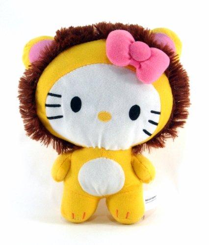Sanrio - Hello Kitty 10 Circus Animal Plush - Hello Kitty Dress As a Lion