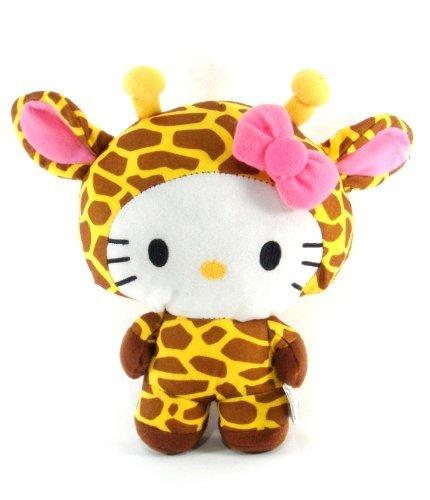 Sanrio - Hello Kitty 10 Circus Animal Plush - Hello Kitty Dress as a Giraffe