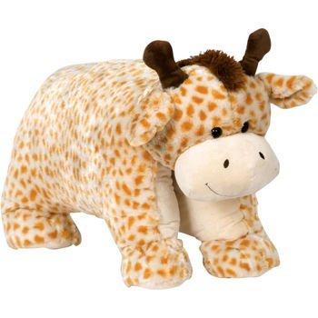Giant Pillow Chums Giraffe 35x19 Orange Cream by Pillow Chums