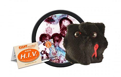 Giant Microbes - HIV Human Immunodeficiency Virus Educational Plush Toy