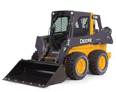 John Deere 116 Scale 318E Skid Steer Toy