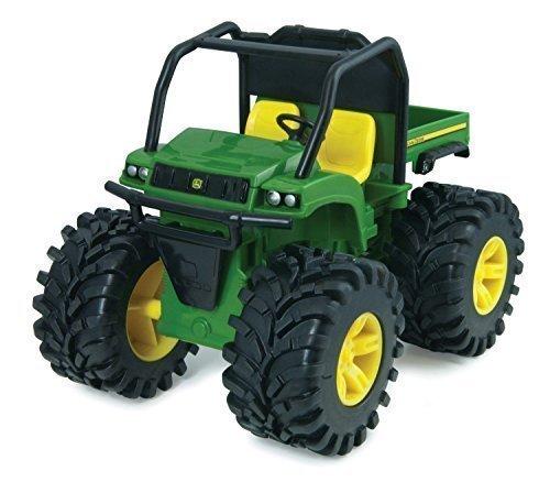 John Deere Monster Treads Lights and Sounds - Gator Truck and Tractor Play Vehicles Toys Push&Pulplayground equipment Preschool Pre-Kindergarten Activity Toy