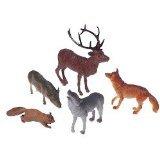 US Toy Woodland Forest Toy Animal Figures Action Figure 1 Dozen