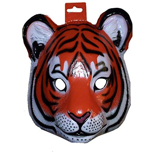 Forum Novelties 61371 Plastic Animal Tiger Mask