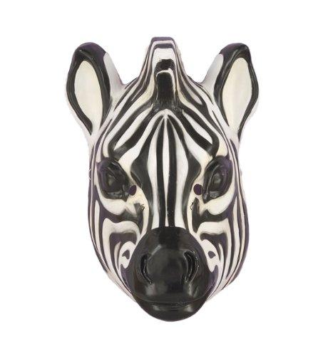 Forum Novelties 61382 Plastic Animal Zebra Mask