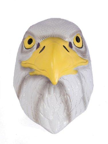 Forum Novelties 63878 Plastic Animal Am Eagle Mask