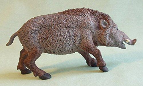 Wild Boar 5 12-inch plastic animal - F159 B24