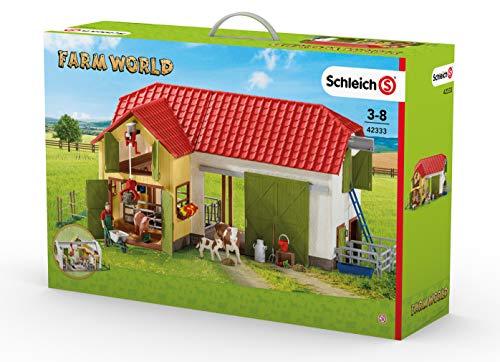 Schleich North America Large Farm with Animals Accessories