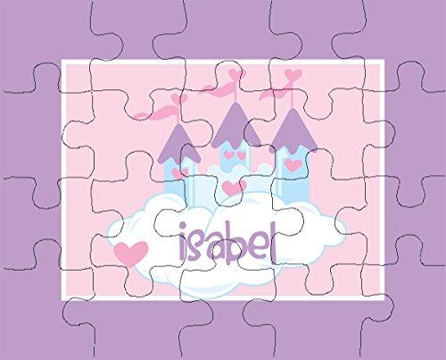 Princess Castle 20-Piece Personalized Puzzle