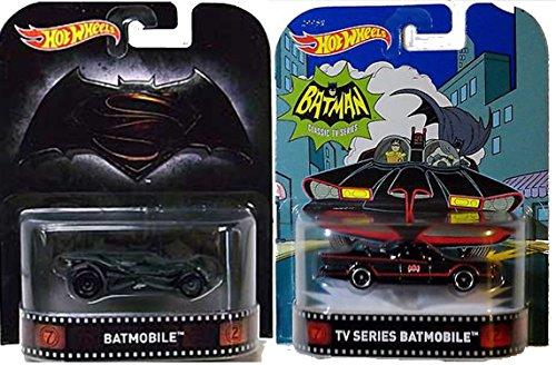 Hot Wheels Retro Entertainment Batman vs Superman Batmobile Classic 1966 Batmobile