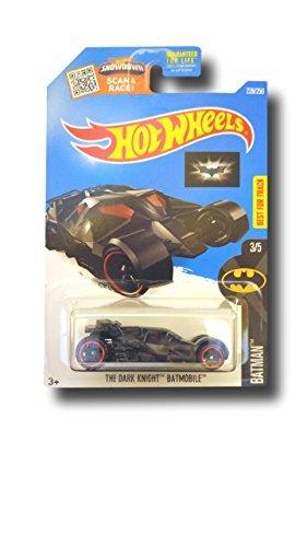Hot Wheels 2016 Batman The Dark Knight Batmobile Black 228250
