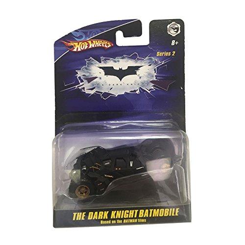 Hot Wheels Series 2 The Dark Knight Batmobile Black Diecast Car Replica