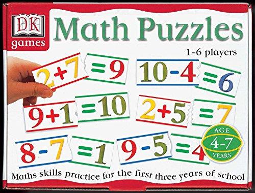 DK Games Math Puzzles