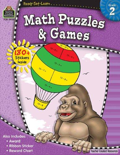 RSL Math Puzzles Games Gr 2