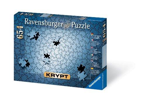 Krypt Silver 654 Piece Blank Puzzle Challenge