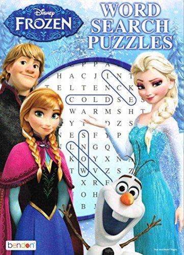 Disney Frozen Word Search Puzzles 1pcs Random