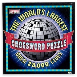 Worlds Largest Crossword Puzzle by Herbko