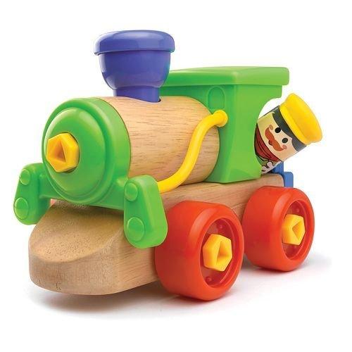 Fun N Jump Toys Jr Mechanic Build-A-Train