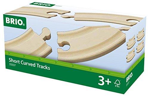 BRIO Short Curved Track