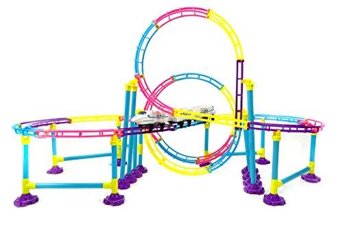 Ampersand Shops Adventure Roller Coaster Bullet Train Toy Building Play Set