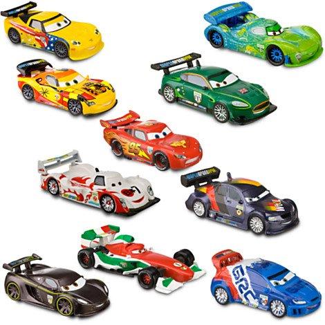 Deluxe Disney Cars 2 Figure Play Set -- 10-Pc