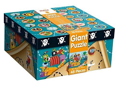 Ludattica Giant Puzzle - The Pirate Ship