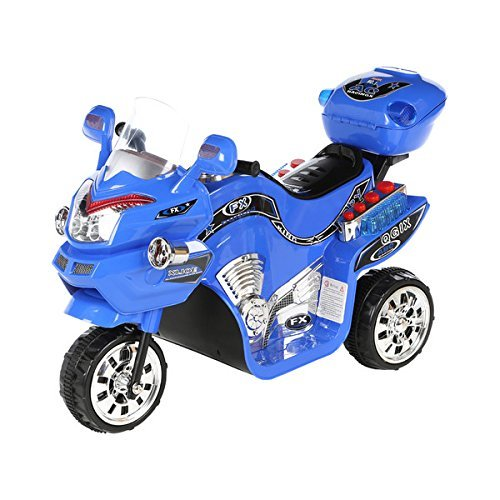 Lil Rider Fx Wheel 6v Battery Powered Motorcycle Kids Electric Motorcycle Blue