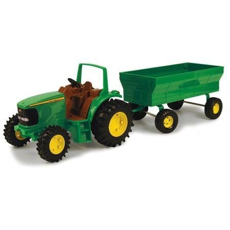 John Deere Tractor with Wagon Play Set Provide Hours of Entertainment