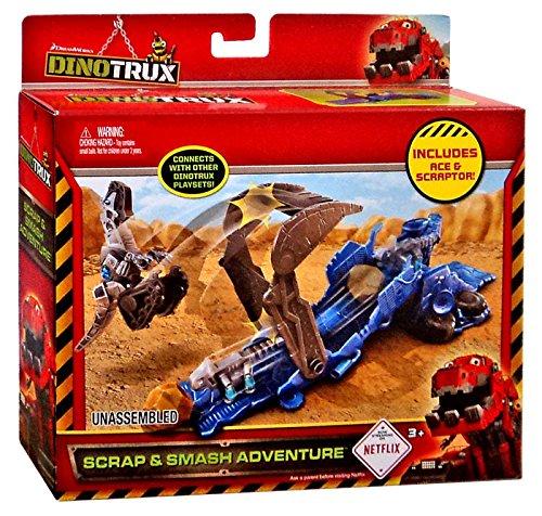 Dinotrux Scrap Smash Adventure Playset