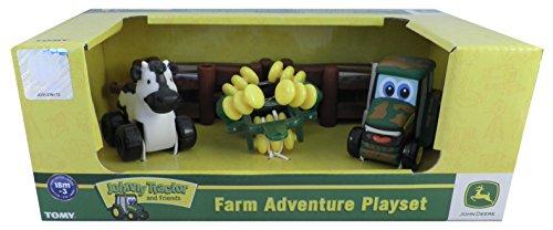 John Deere ERTL Farm Adventure Playset 9 Piece