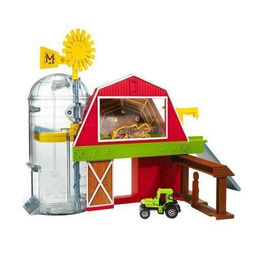 Matchbox Farm Adventure Playset Tractor Barn Silo by Matchbox