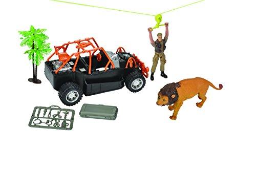 Wild Republic E-Team X Safari Zipline Adventure Playset