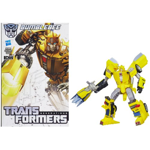 Transformers Generations Deluxe Class Bumblebee Action Figure