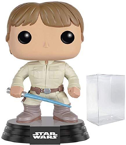 Star Wars Bespin Luke Skywalker with Lightsaber Funko Pop Vinyl Bobble-Head Figure Includes Compatible Pop Box Protector Case