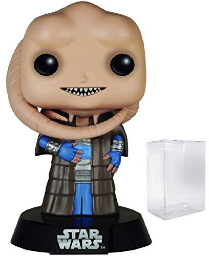 Star Wars Return of The Jedi - Bib Fortuna Funko Pop Vinyl Bobble-Head Figure Includes Compatible Pop Box Protector Case