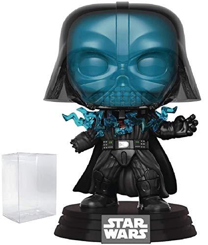 Star Wars Return of The Jedi - Electrocuted Darth Vader Funko Pop Vinyl Bobble-Head Figure Includes Compatible Pop Box Protector Case