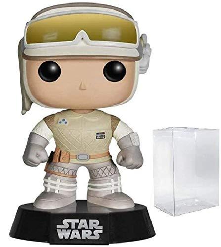 Star Wars The Empire Strikes Back - Hoth Luke Skywalker Funko Pop Vinyl Bobble-Head Figure Includes Compatible Pop Box Protector Case
