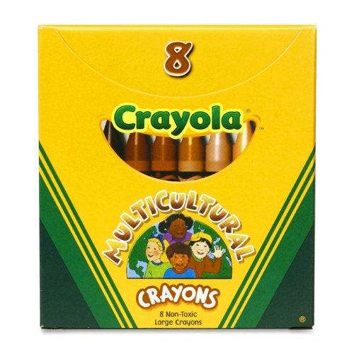 BIN52080W - Crayola Multicultural Crayons