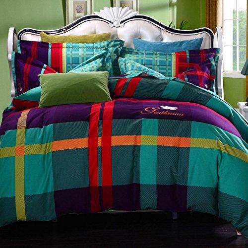 FSLP Home Bedding Sets Girls Love Flower Rustic Floral Bedspreads Wedding Set Luxury Patchwork 100 Cotton Winter Quilts Set King Size 4pcs