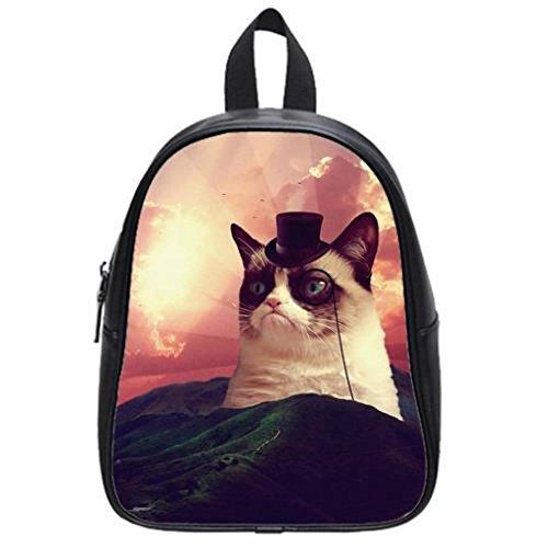 Grumpy Cat Custom School Bag For Boys And Girls By Love Shopping
