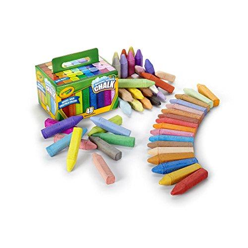 48 Count- Crayola Washable Sidewalk Chalk