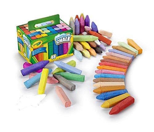 Crayola Washable Sidewalk Chalk 48 Different Colors