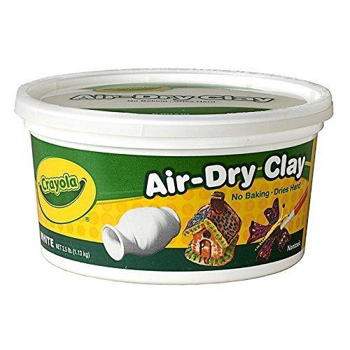 12 Pack CRAYOLA LLC FORMERLY BINNEY SMITH CRAYOLA AIR-DRY CLAY 2 12 LBS